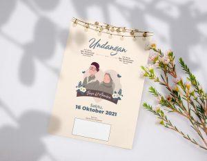 undangan pernikahan digital minim budget