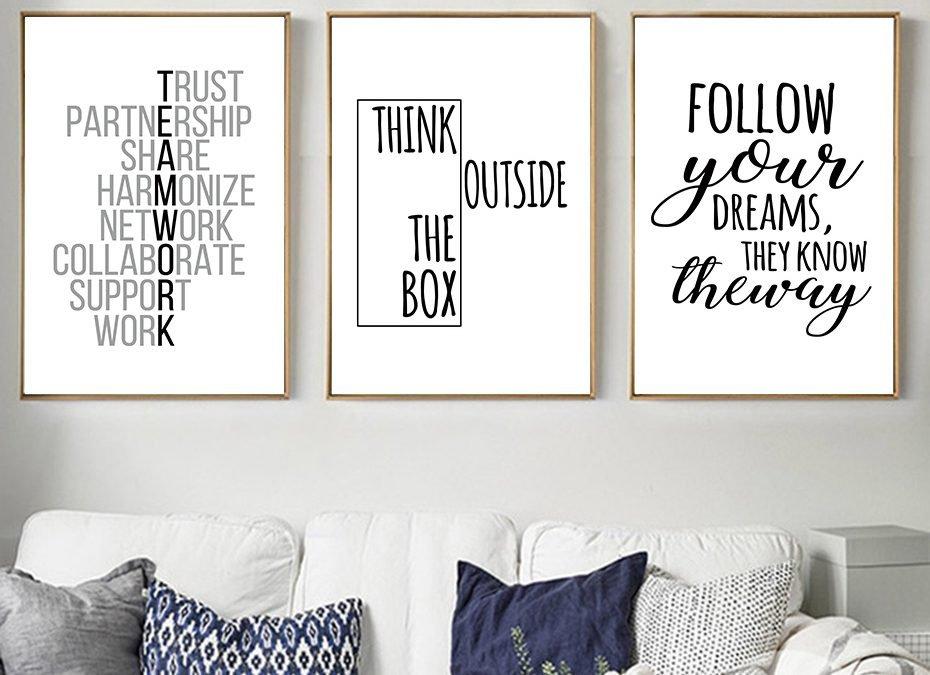 6 Manfaat Dinding Motivasi yang Akan Menginspirasi Anda