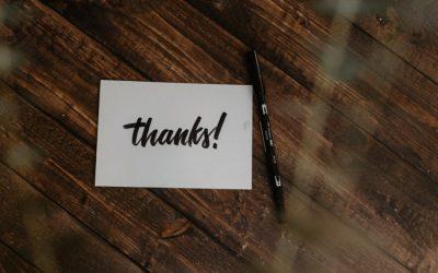 Ini 5 Ide Membuat Thank You Card yang Bisa Anda Tiru