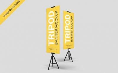 3 Jenis Standing Banner Paling Banyak Digunakan dan Kegunaannya